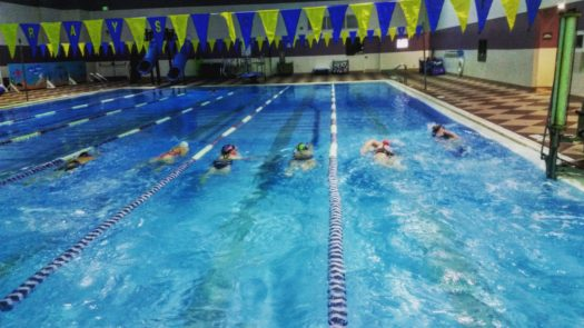 Fairbanks Masters Swimming Practice
