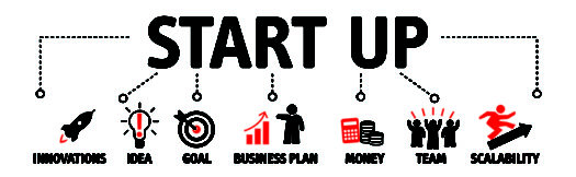 Picture Outlining Start Up Concept